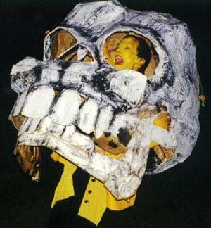 BareBones Halloween 1996 skull