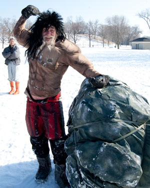 Loren Kellen as Sisyphus