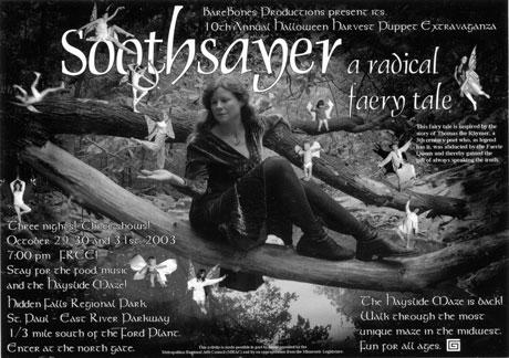 BareBones Halloween 2003: Soothsayer