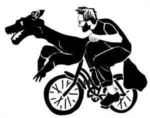 Ethan Johnson's Dog Bike