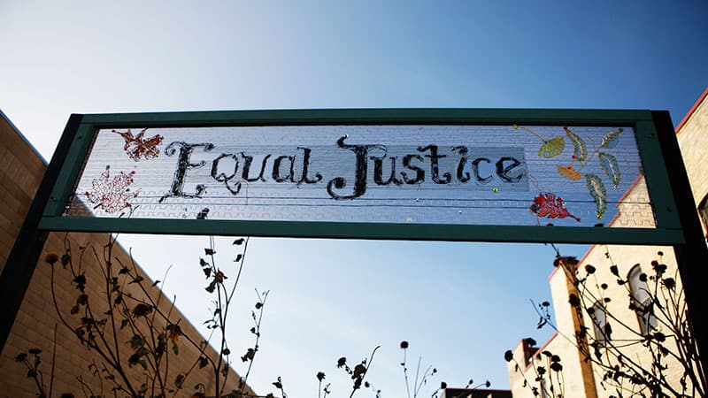 Marian Lucas_Equal Justice. photo: Paul Irmiter