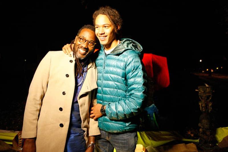 Ofunshi Oba Koso with son