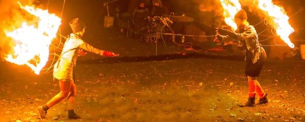 BareBones fire dance