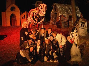 barebones halloween show 2005 cast