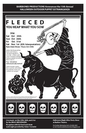 BareBones Halloween Poster 2008
