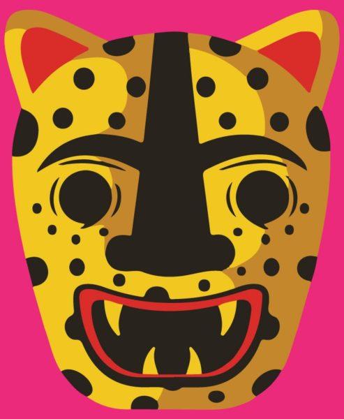 Panther logo for Grito de los Ancestros.