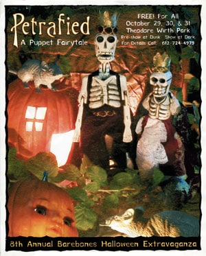 BareBones Halloween Show 2001: Petrafied