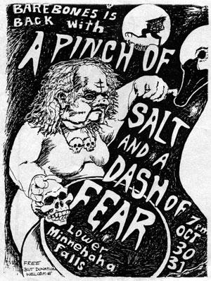 A Pinch of Salt, A Dash of Fear