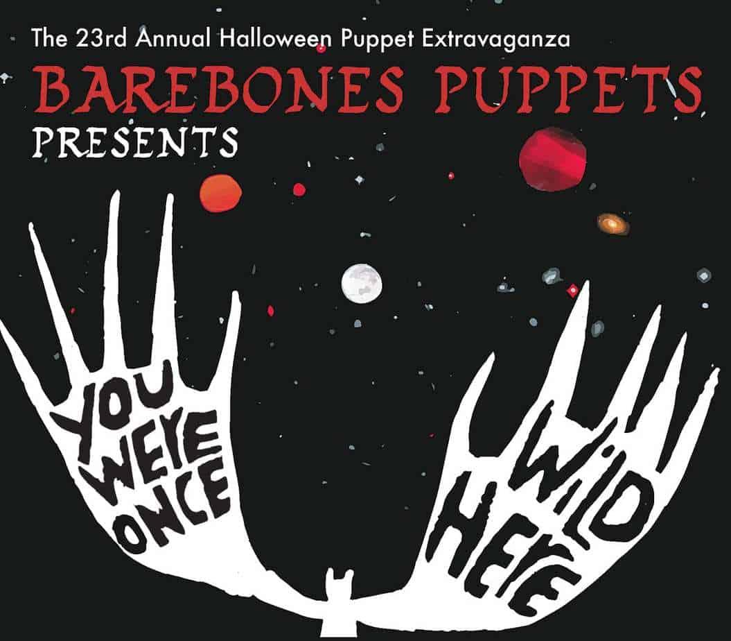 Barebones Halloween 2016 poster